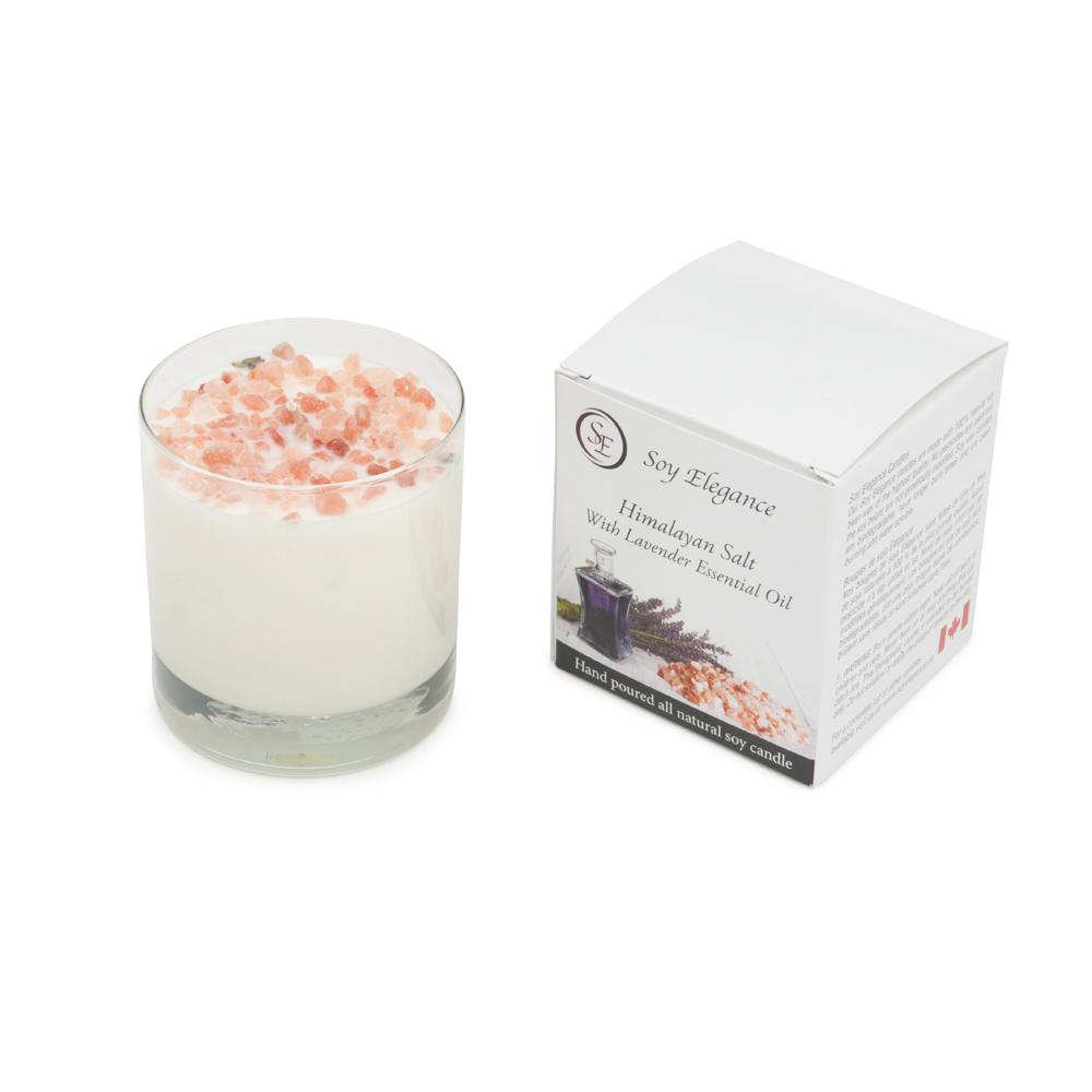 Himalayan Salt Soy Candle Soy Elegance